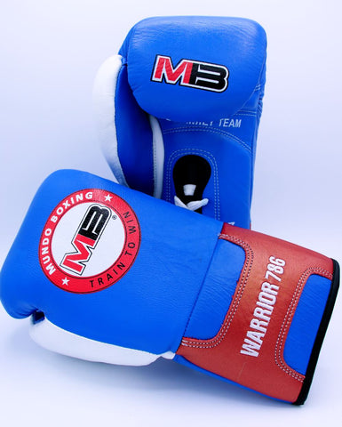 "MB Boxing Gloves ""WARRIOR 786"""
