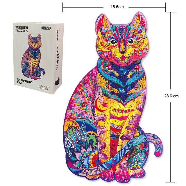 Gosnows™ Cat| Magic Wooden Jigsaw Puzzle