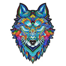 Load image into Gallery viewer, Gosnows™  Wolf | Magic Wooden Jigsaw Puzzle