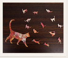 Load image into Gallery viewer, Gosnows™  | Magic Wooden Jigsaw Puzzle -Cat