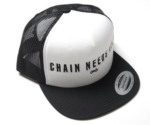 CHAIN NEEDS OIL SNAPBACK