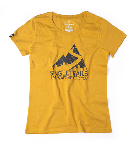 SINGLE TRAILS WOMEN'S T-SHIRT