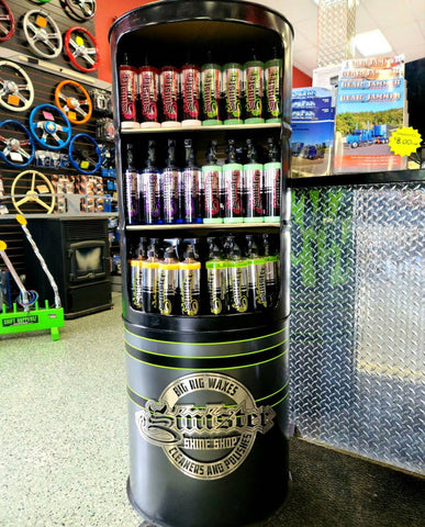 Our Custom Stands are sure to stand out in your shop for ultimate sales!