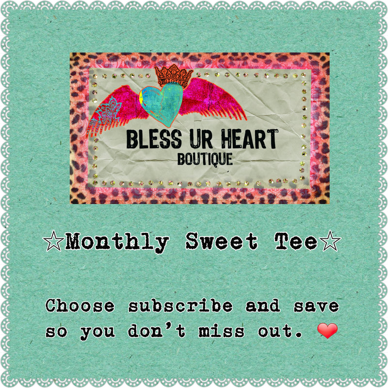 Sweet TEE Monthly Specials