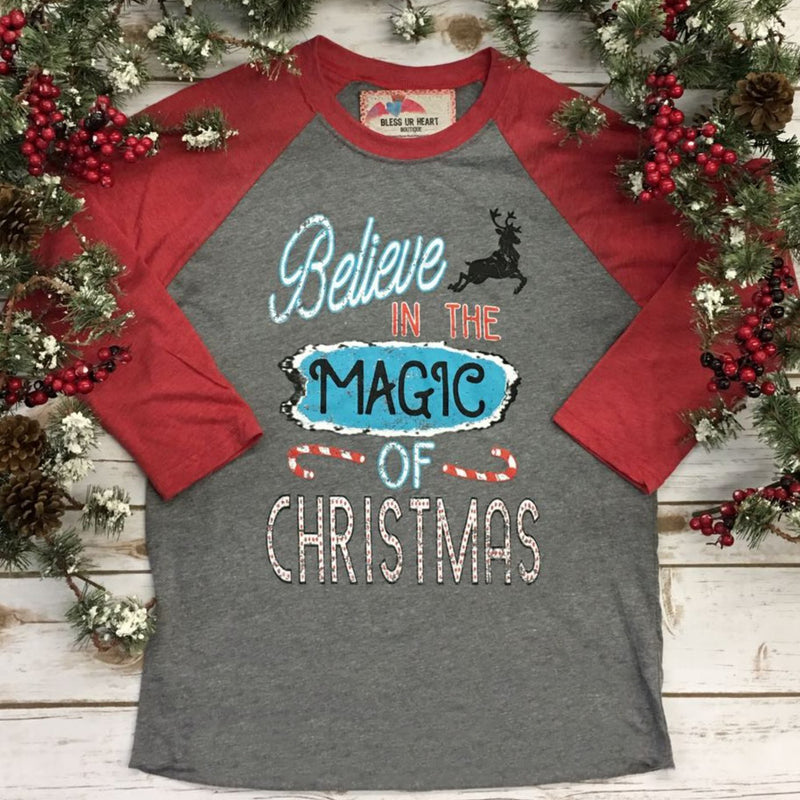 Christmas Magic Sweet Tee Raglan