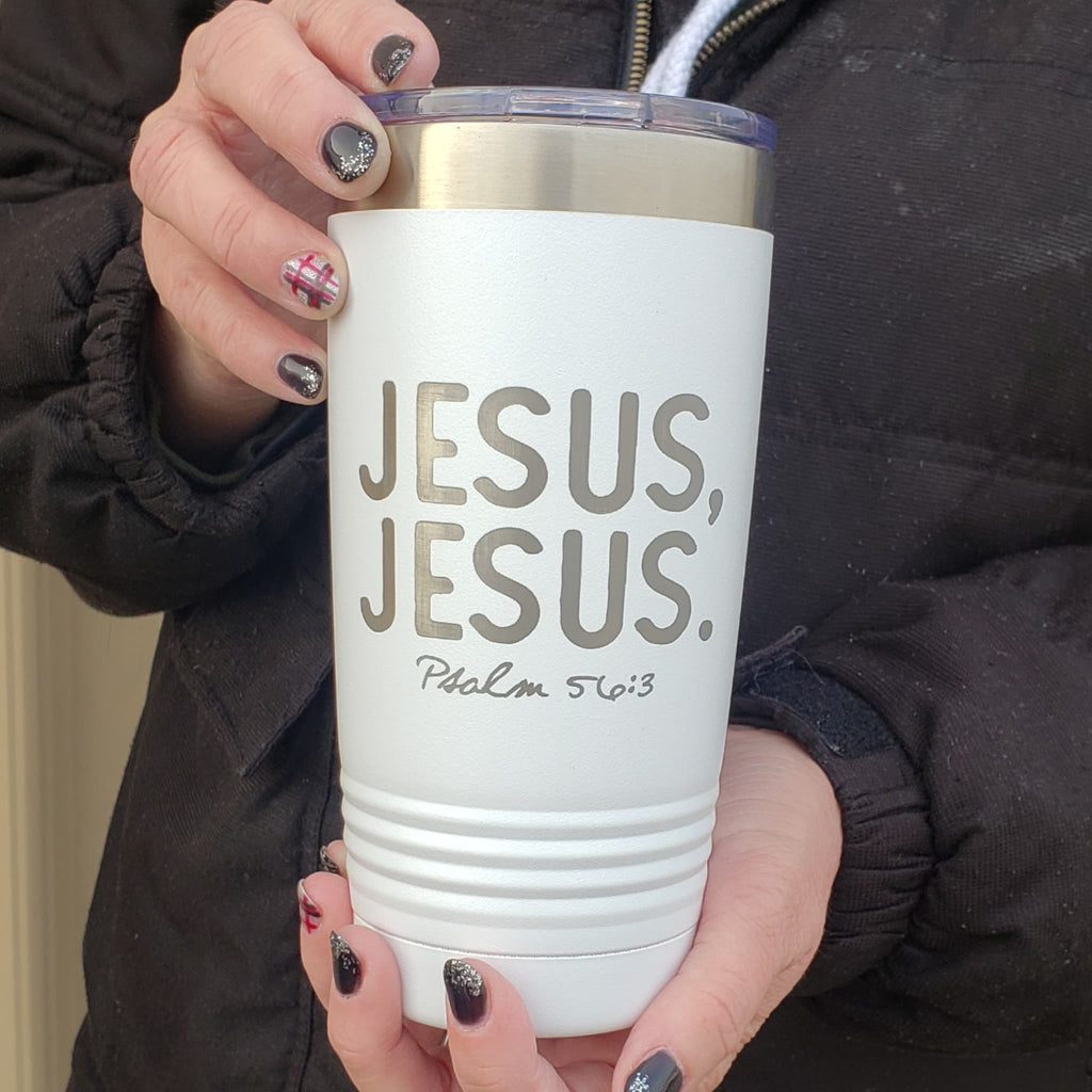 Jesus, Jesus 20 oz  Tumbler  **Special of the Week** - Bless UR Heart Boutique