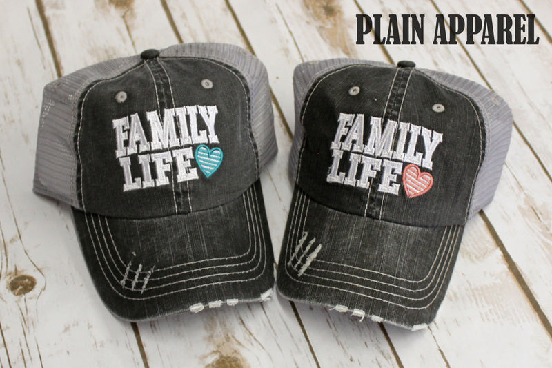 Family Life Ball Cap