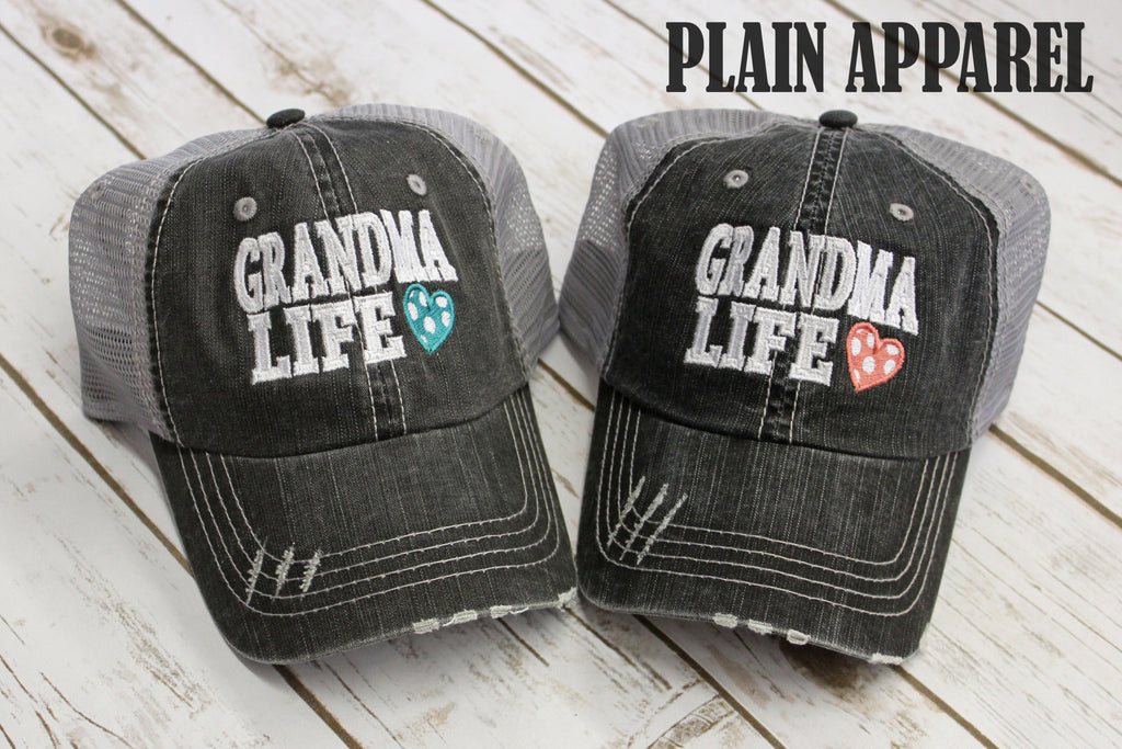 Grandma Life Ball Cap - Bless UR Heart Boutique