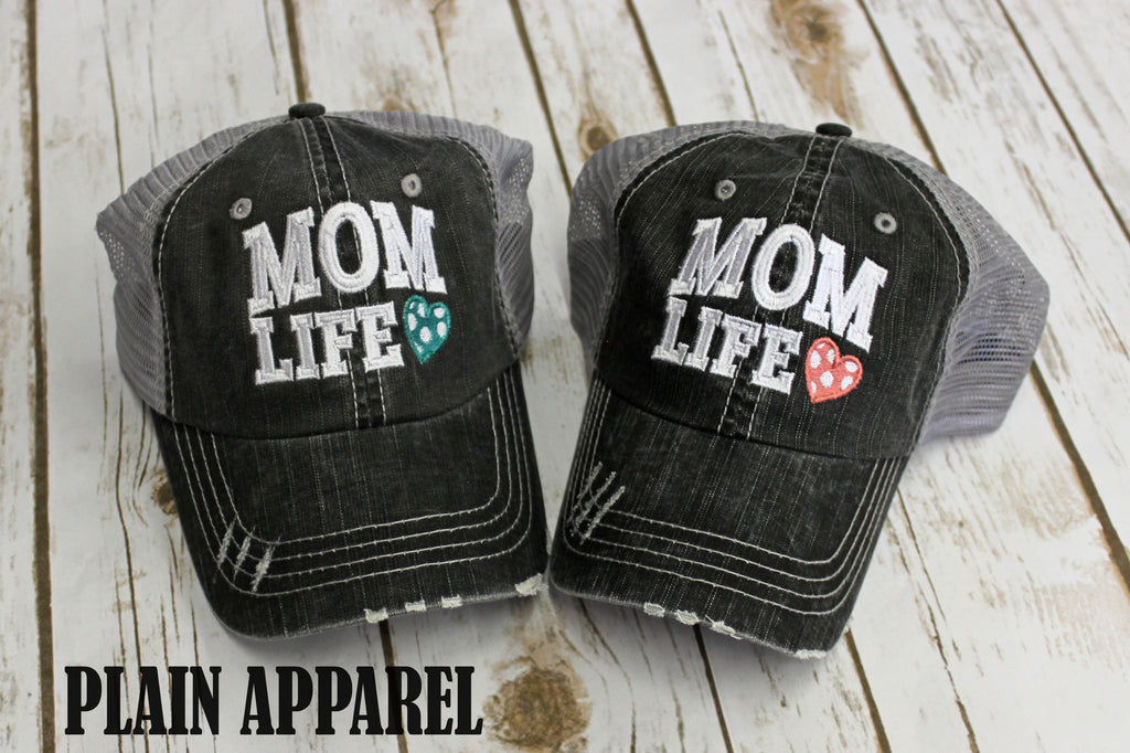 Mom Life Ball Cap - Bless UR Heart Boutique