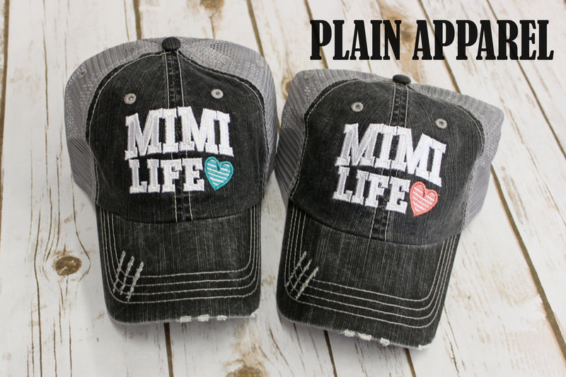 Mimi Life Ball Cap - Bless UR Heart Boutique