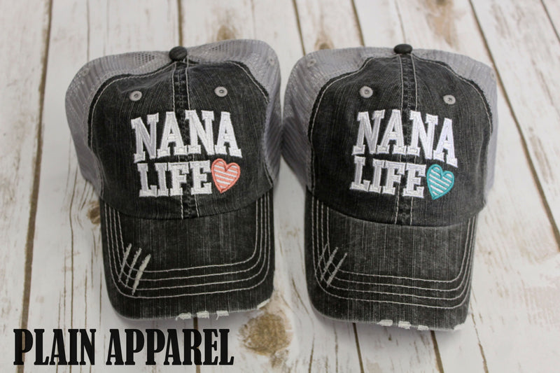 Nana Life Ball Cap - Bless UR Heart Boutique
