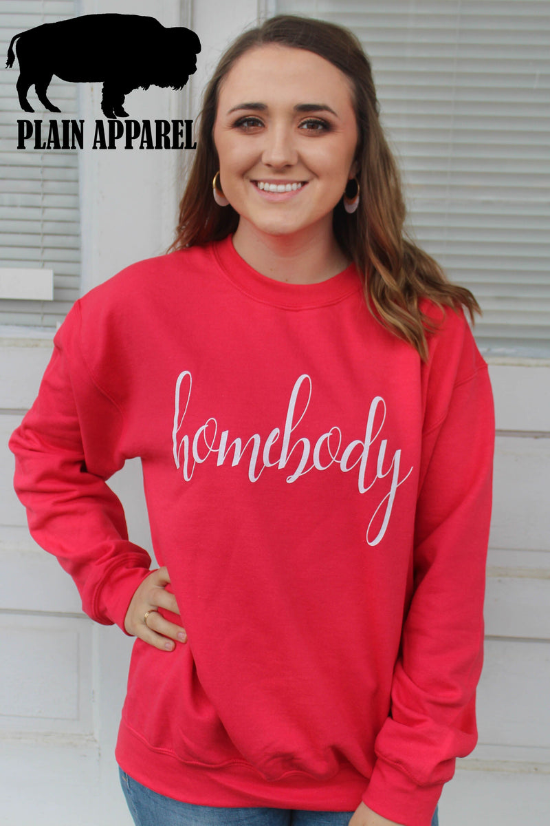 Homebody Paprika Sweatshirt - Bless UR Heart Boutique