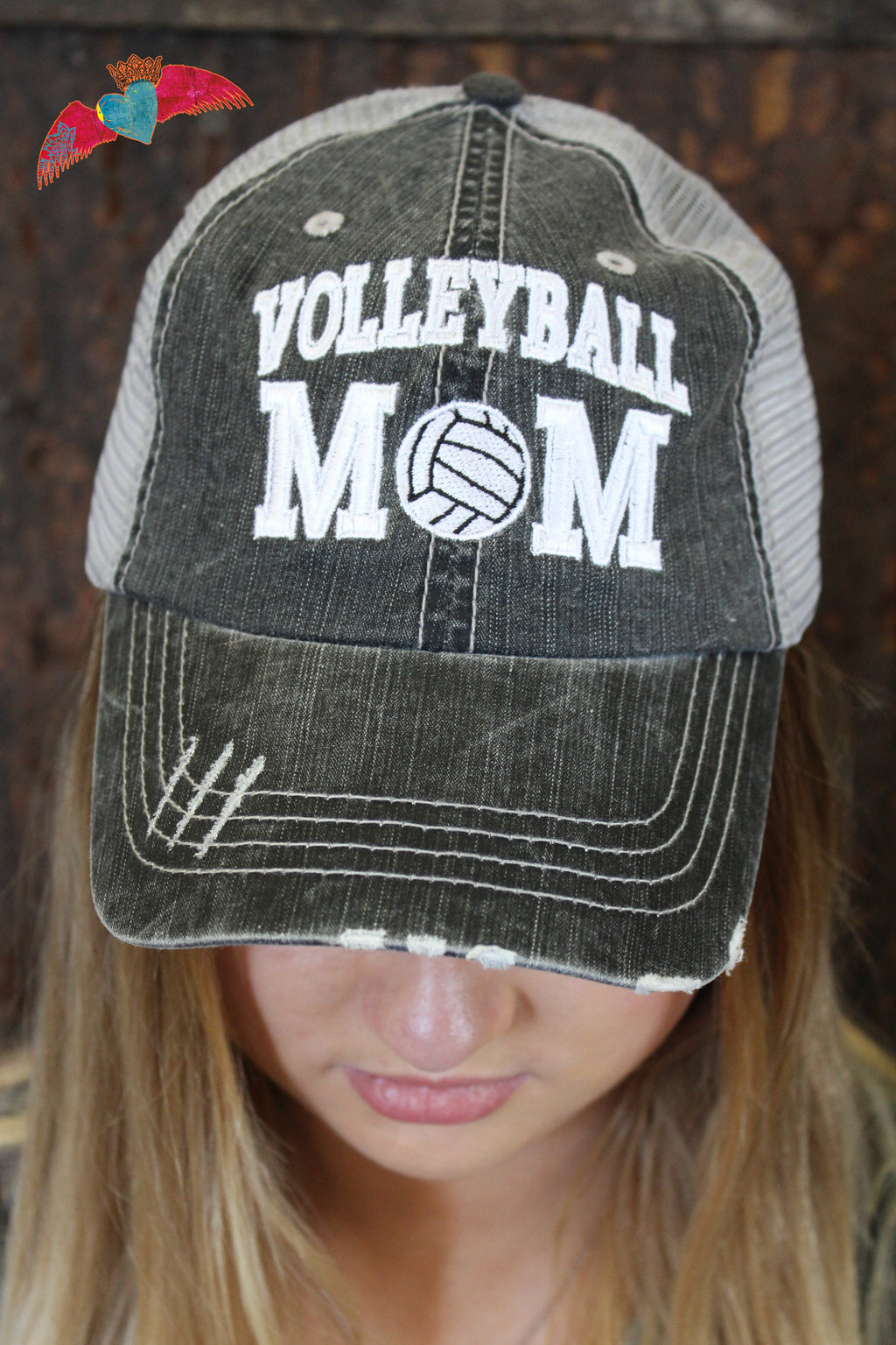 Volleyball Mom Ball Cap