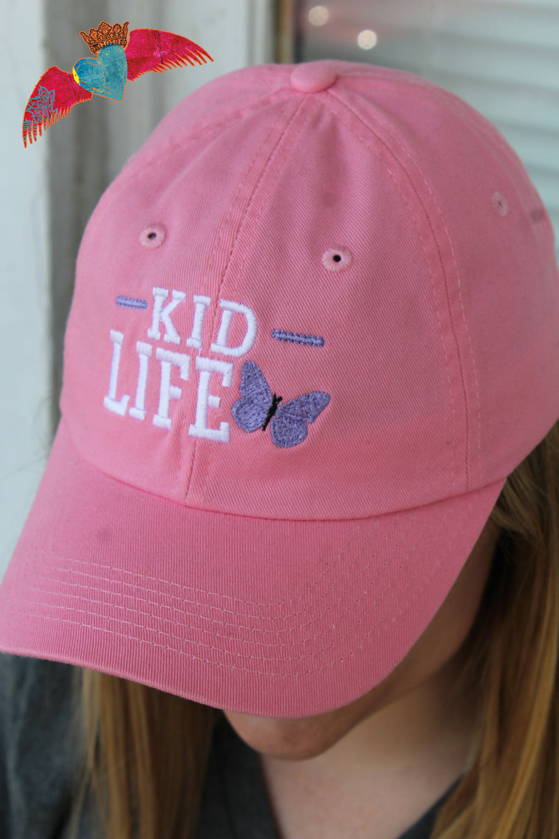 Butterfly Kid Life Ball Cap