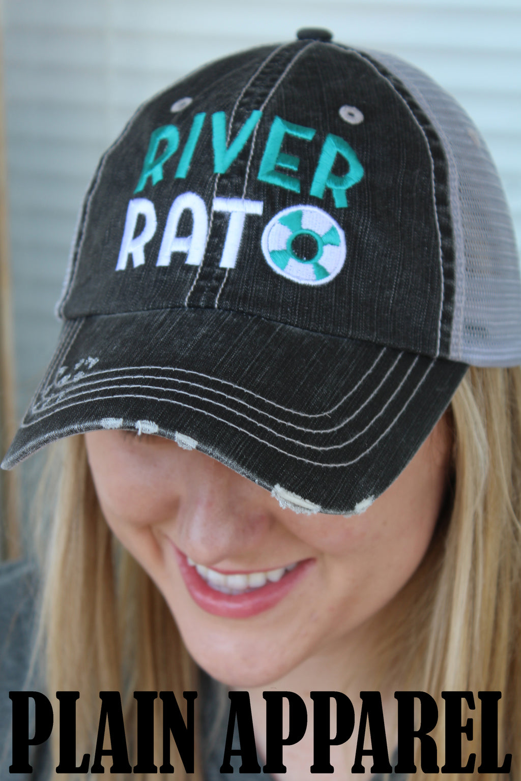 River Rat Ball Cap - Bless UR Heart Boutique