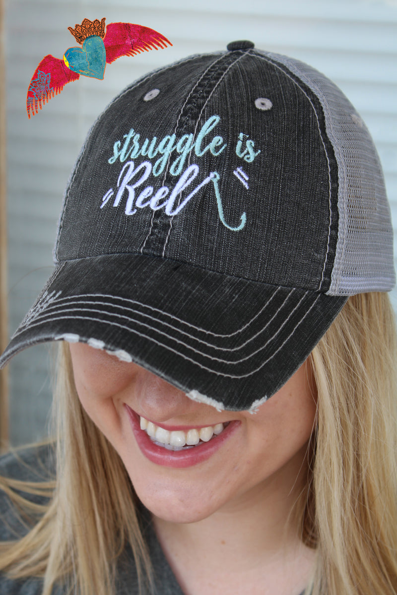 "Struggle Is ""Reel"" Ball Cap"