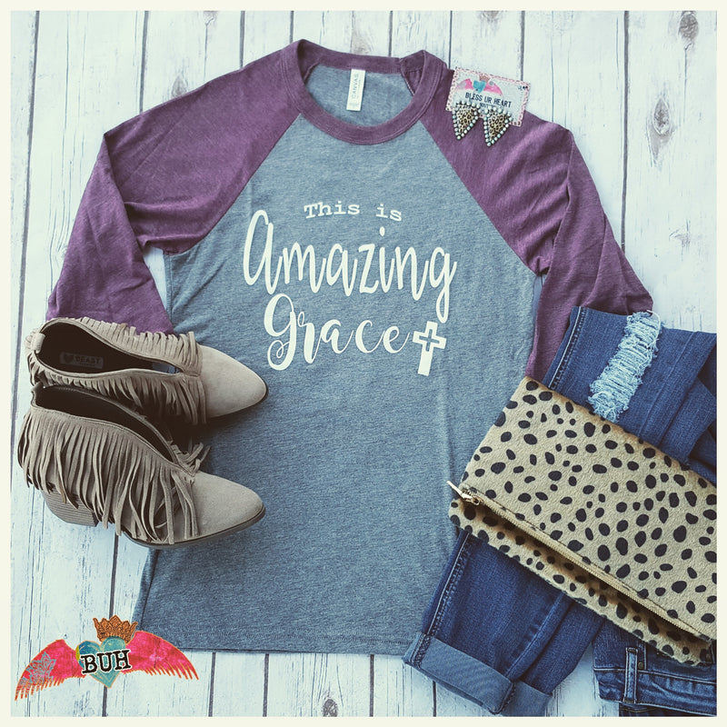 This is Amazing Grace Raglan