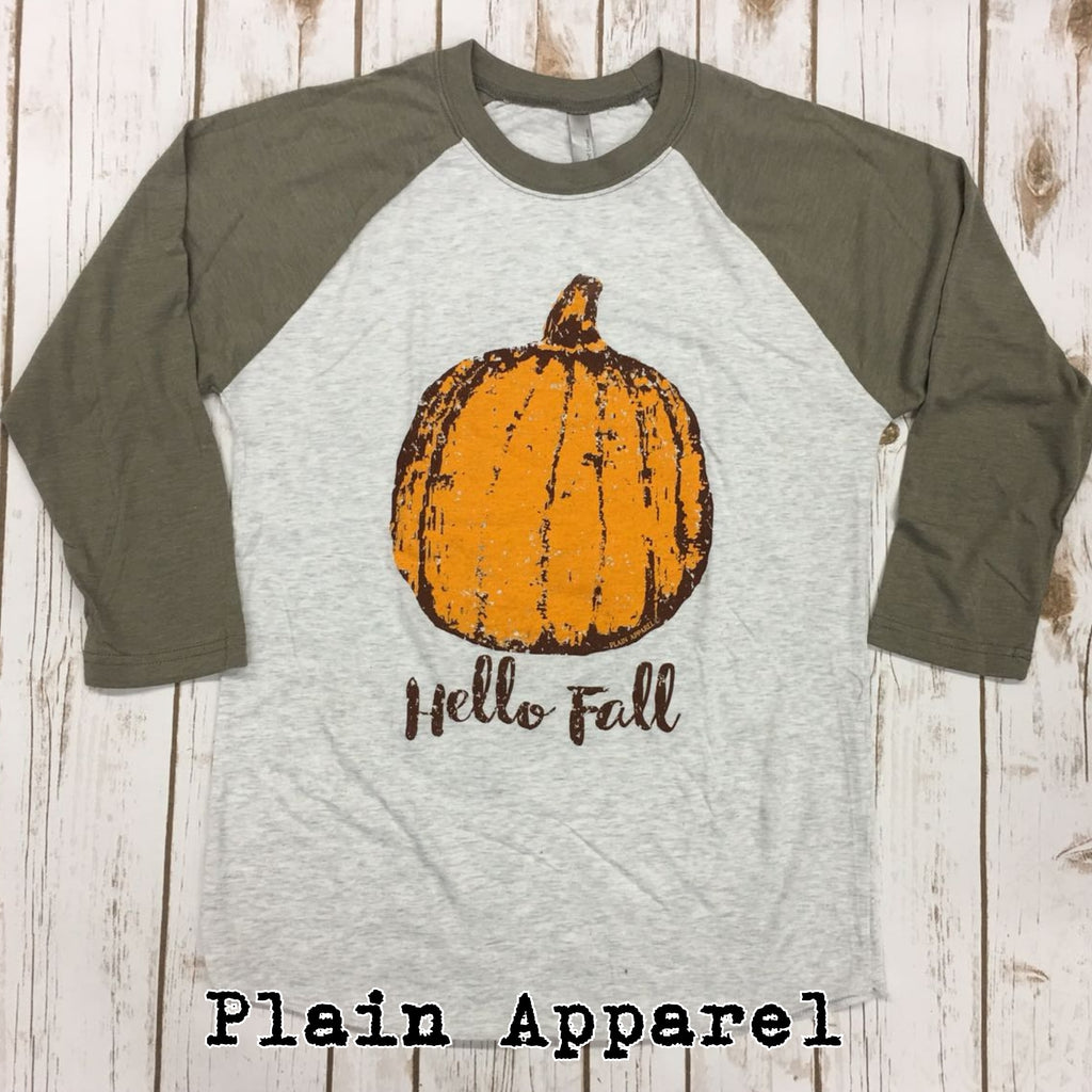 Hello Fall Raglan
