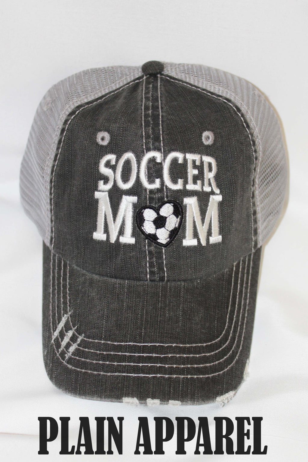 Soccer MOM Ball Cap