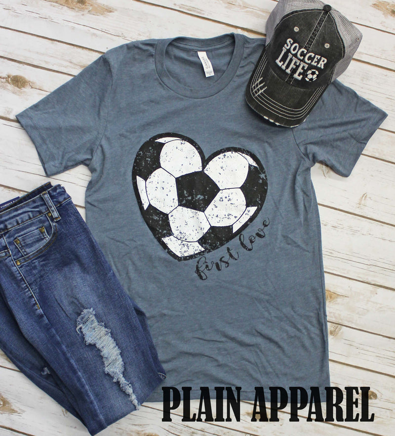 Soccer First Love - Bless UR Heart Boutique