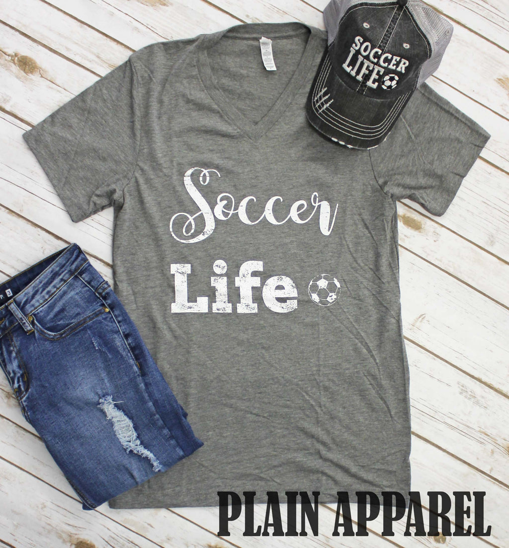Soccer Life Tee - Bless UR Heart Boutique