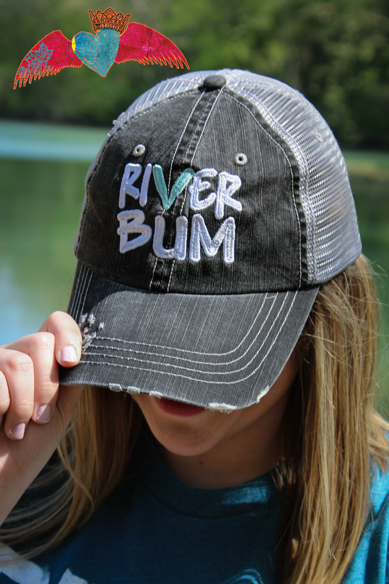 River Bum Hat - Bless UR Heart Boutique