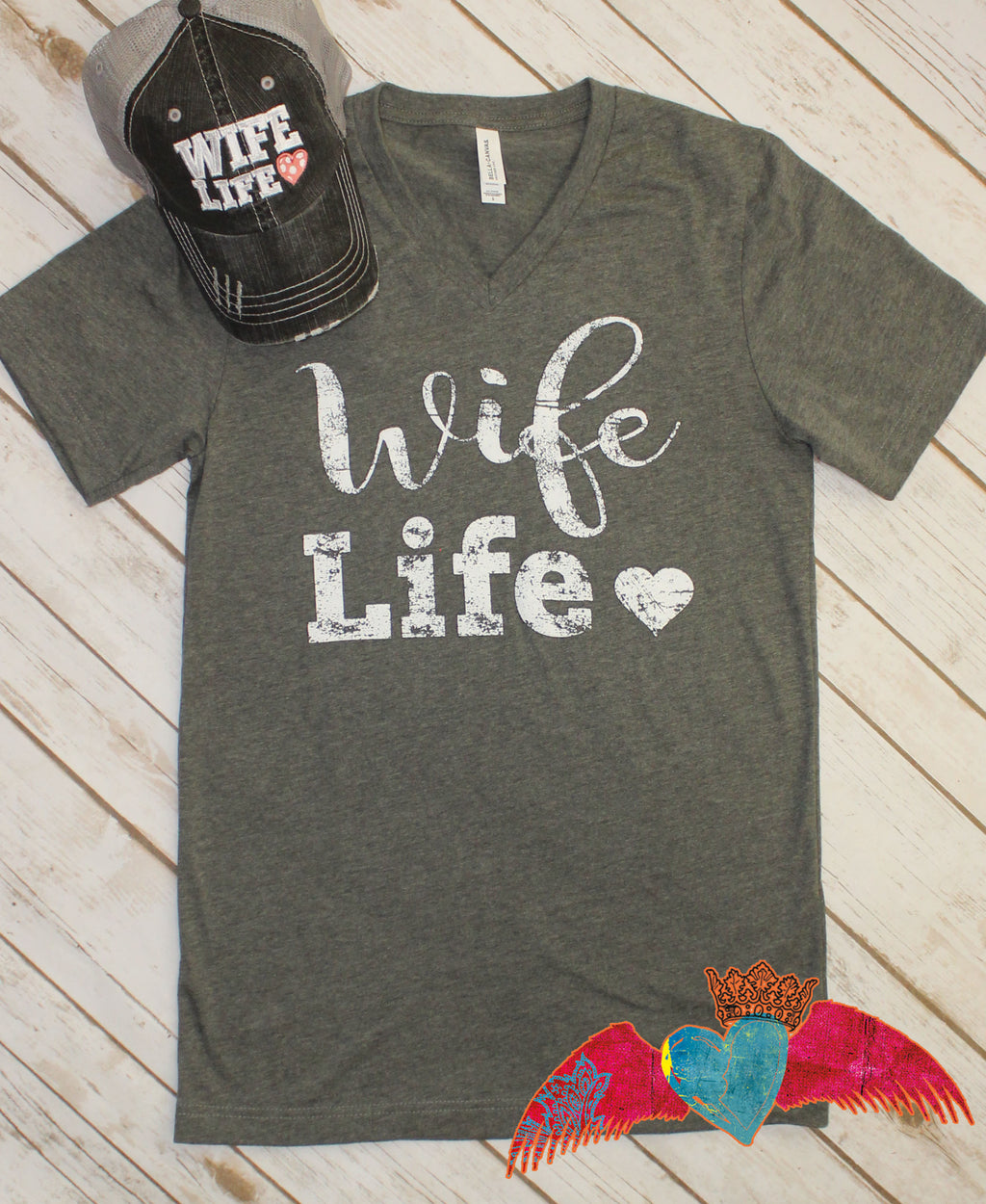 Wife Life Blessed Box - Bless UR Heart Boutique