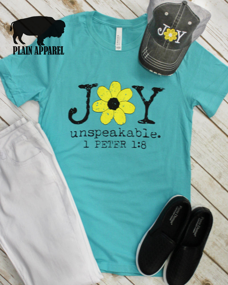 Joy Unspeakable Crew Neck - Bless UR Heart Boutique