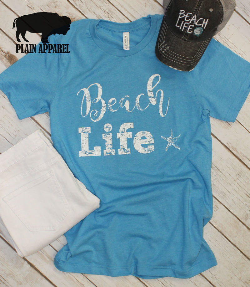 Beach Life Crew Neck - Bless UR Heart Boutique