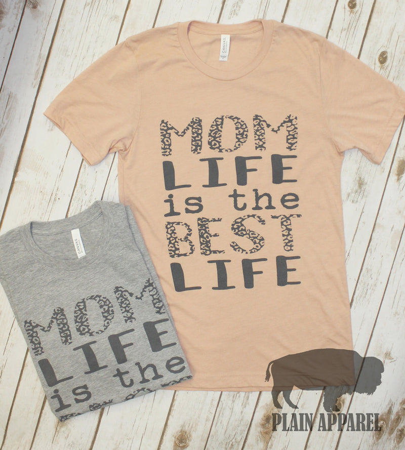 Mom Life is the Best Life Crew - Bless UR Heart Boutique