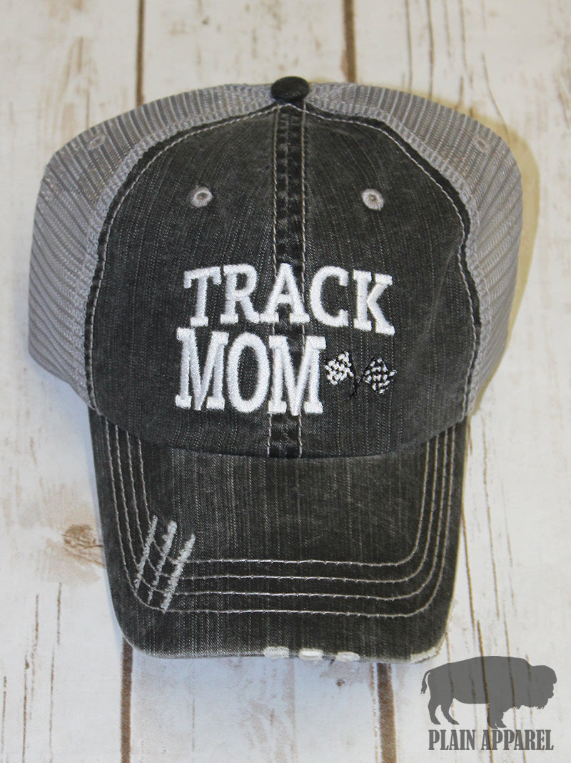 Race Track Mom Ball Cap