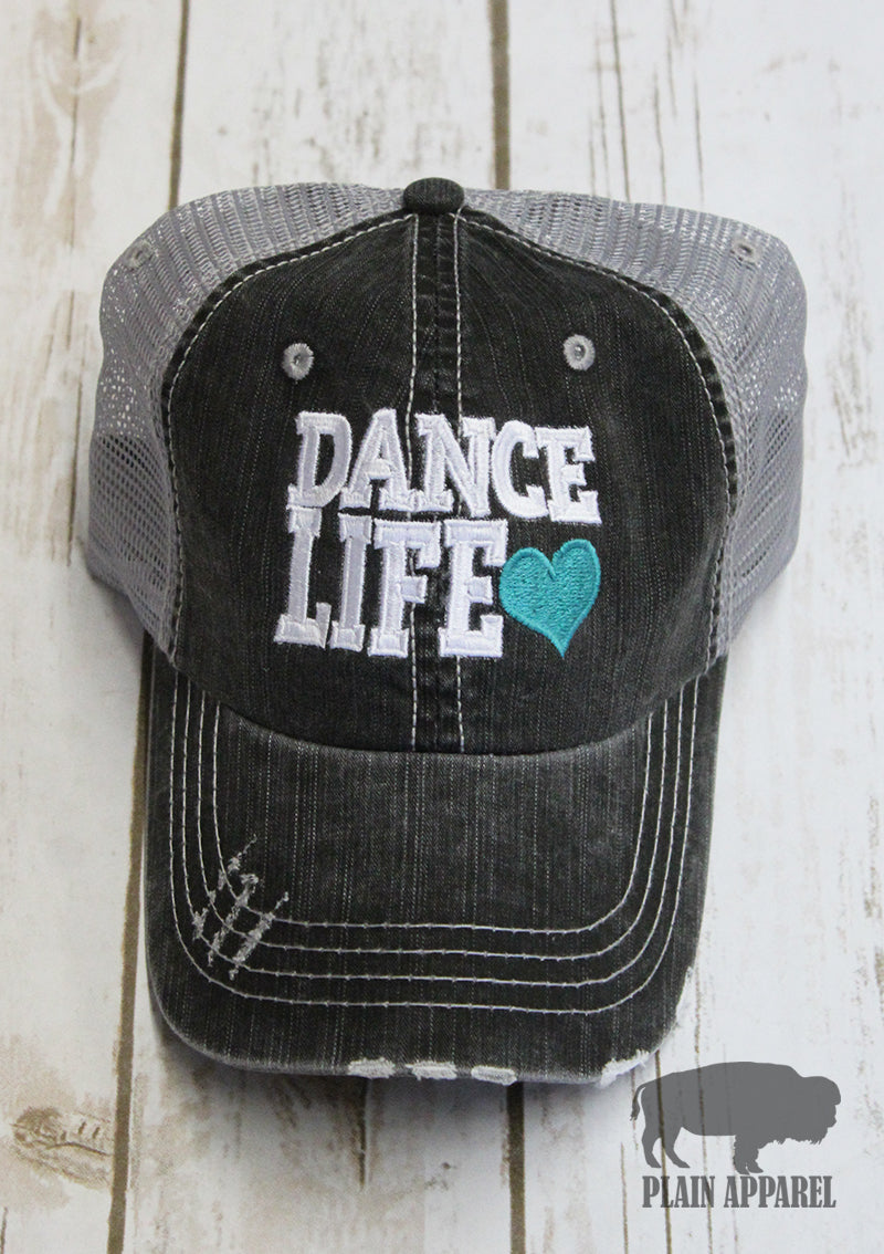Dance Life Ball Cap - Bless UR Heart Boutique