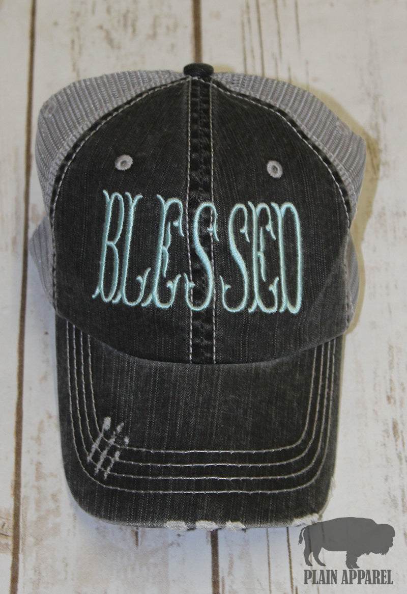 Blessed Ball Cap - Bless UR Heart Boutique