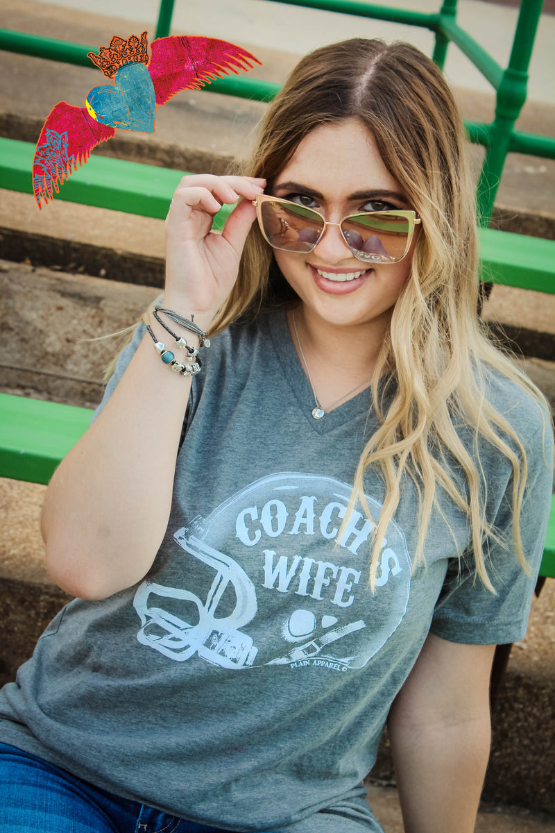 Coach's Wife V-Neck Top