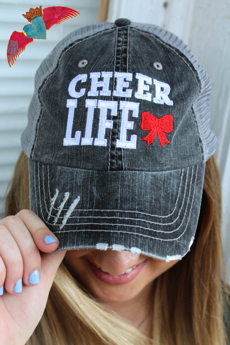 Cheer Life Ball Cap - Bless UR Heart Boutique