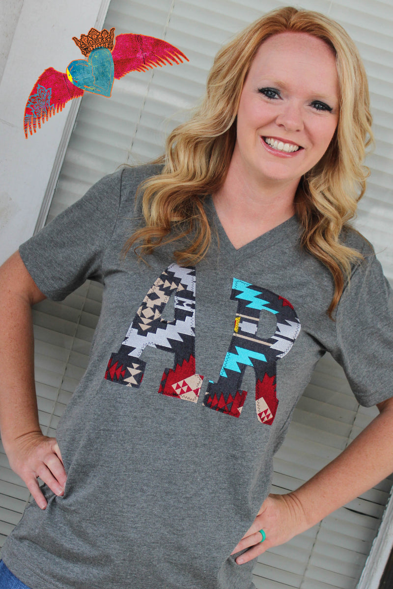 Southwest State Abbreviation Tee - Bless UR Heart Boutique