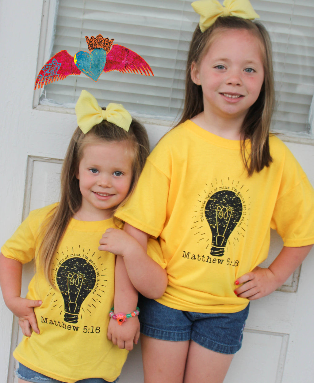 This Little Light Of Mine Kids Tee - Bless UR Heart Boutique