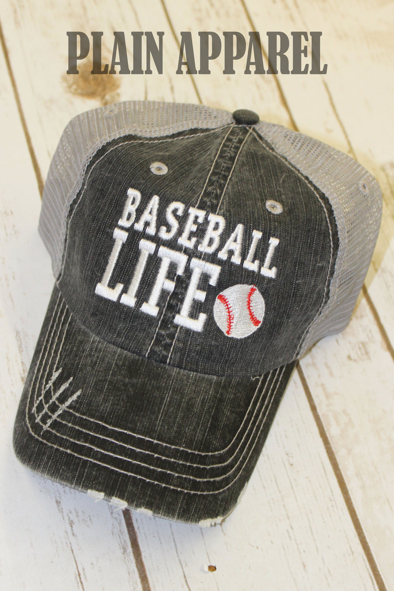 Baseball Life Ball Cap - Bless UR Heart Boutique