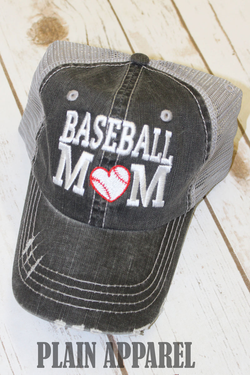 Baseball Mom Ball Cap - Bless UR Heart Boutique