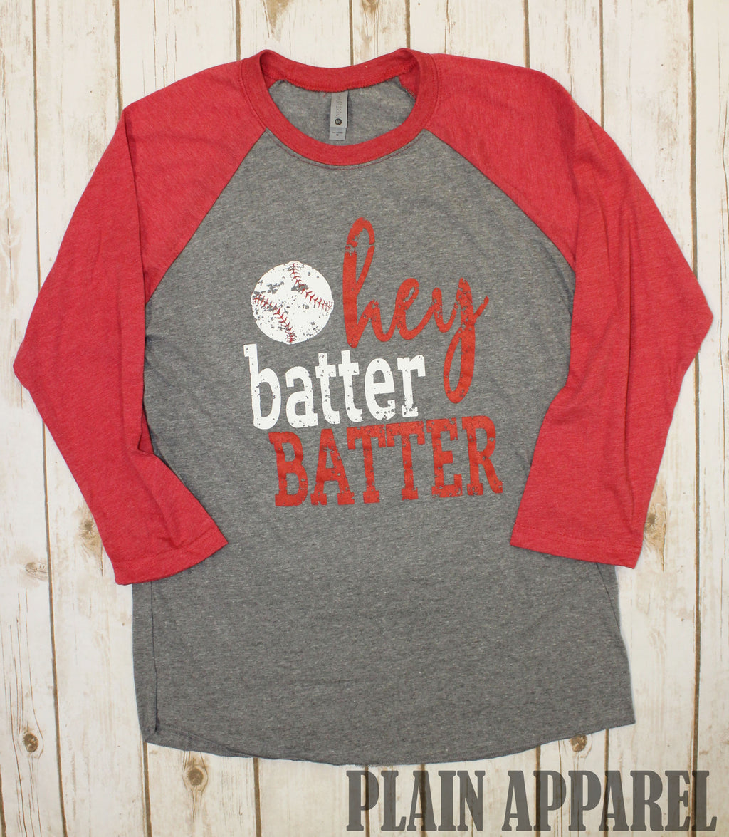Baseball Batter Batter Raglan - Bless UR Heart Boutique