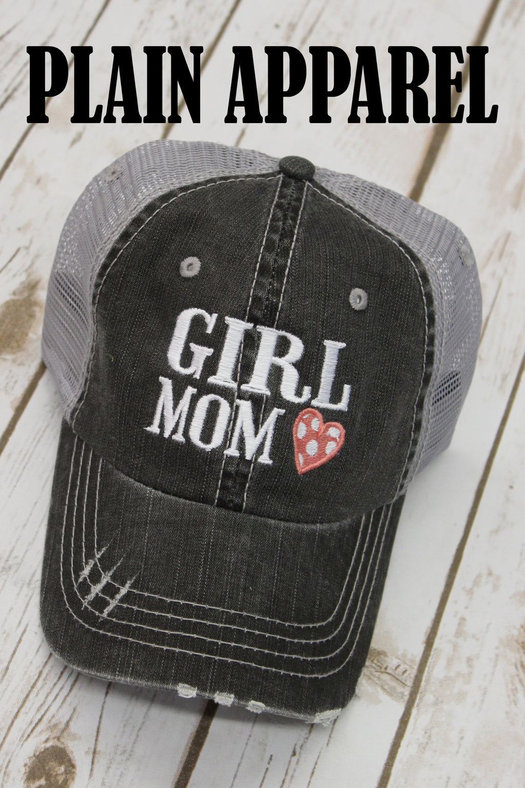 Girl Mom Ball Cap