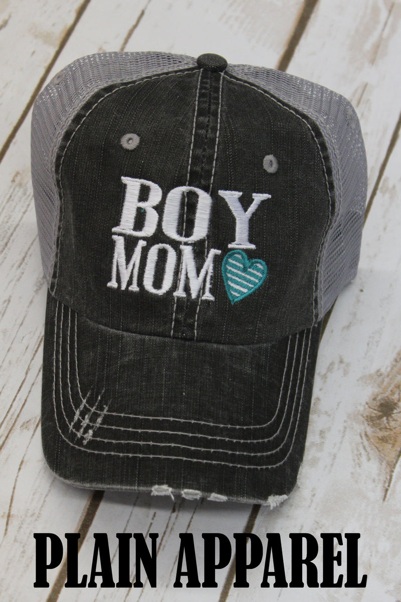 Boy Mom Ball Cap