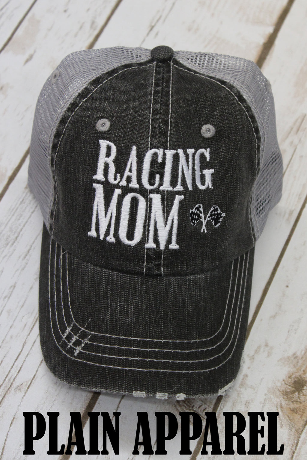 Racing Mom Ball Cap