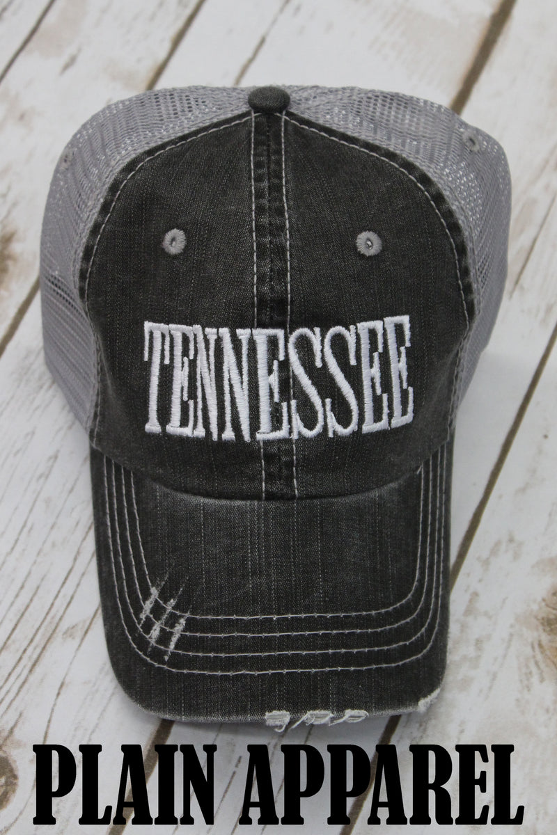 State Gray Trucker Ball Cap