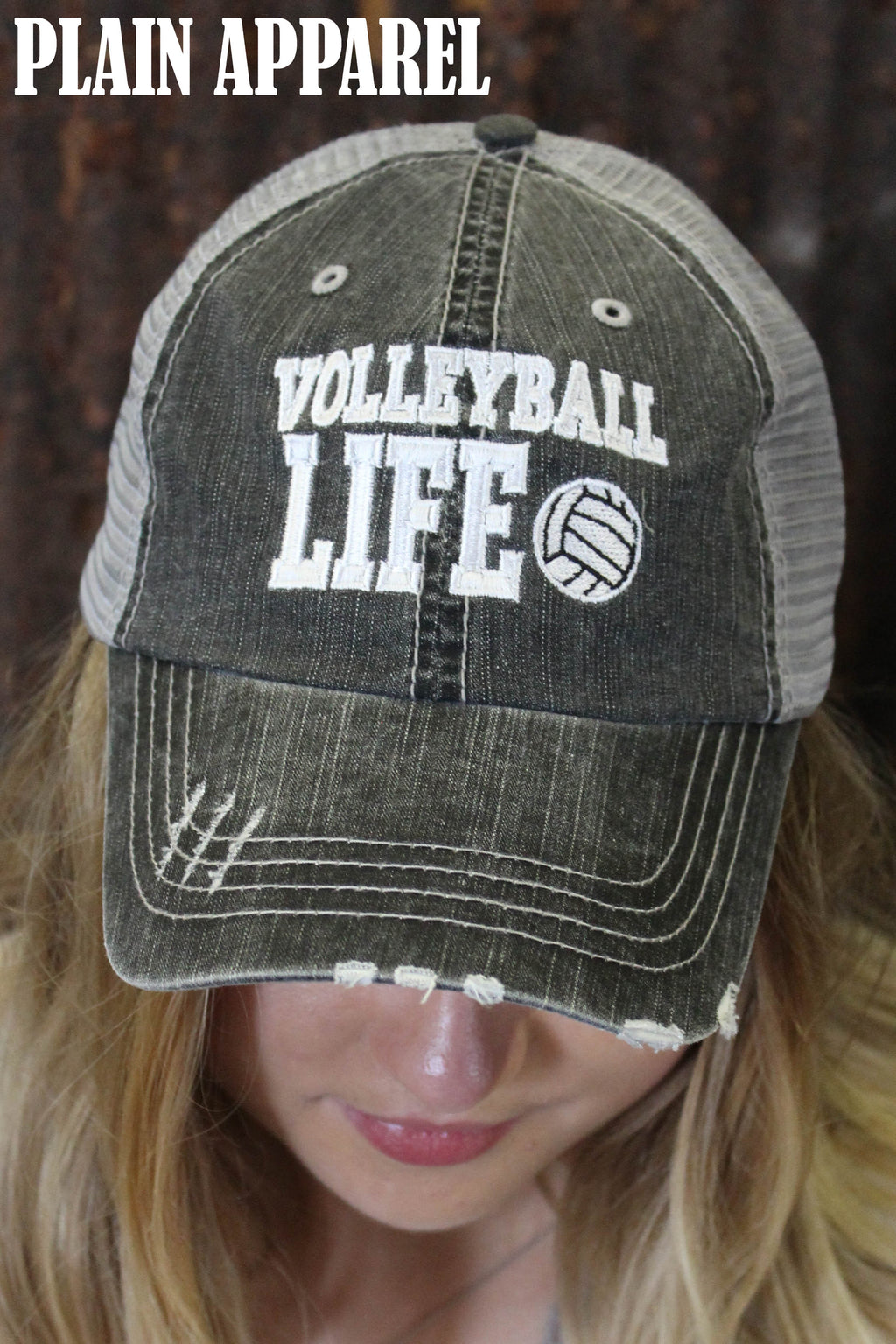 Volleyball Life Ball Cap - Bless UR Heart Boutique
