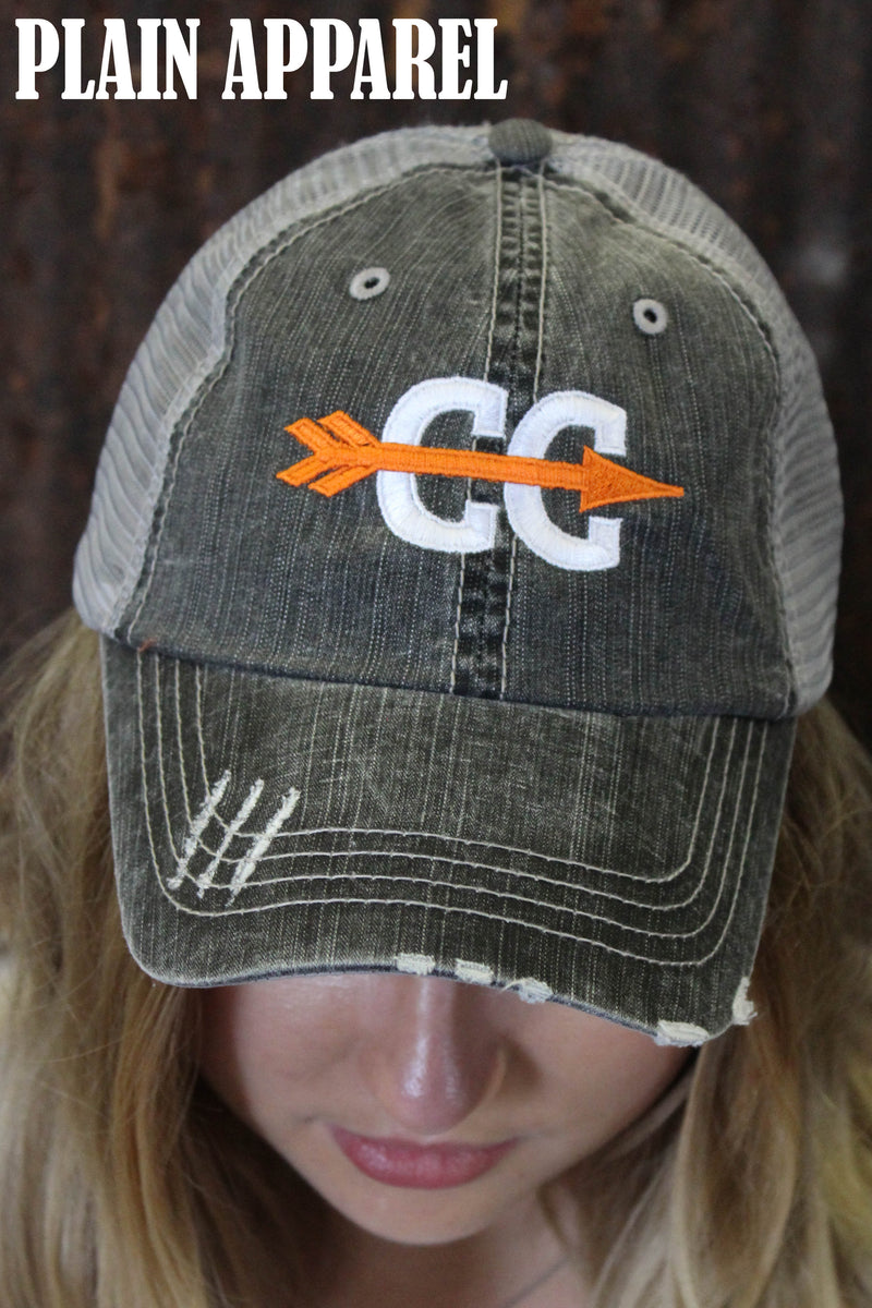 Cross Country Ball Cap - Bless UR Heart Boutique