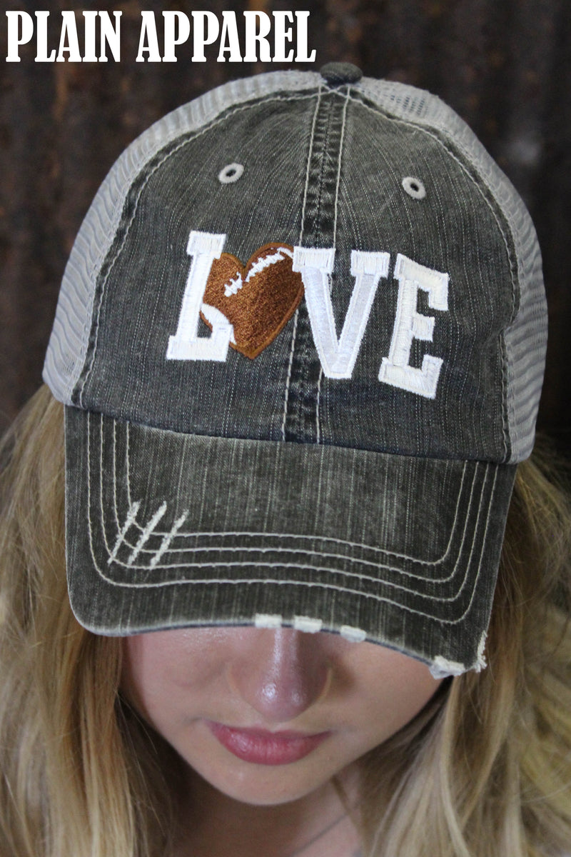 Football Love Ball Cap