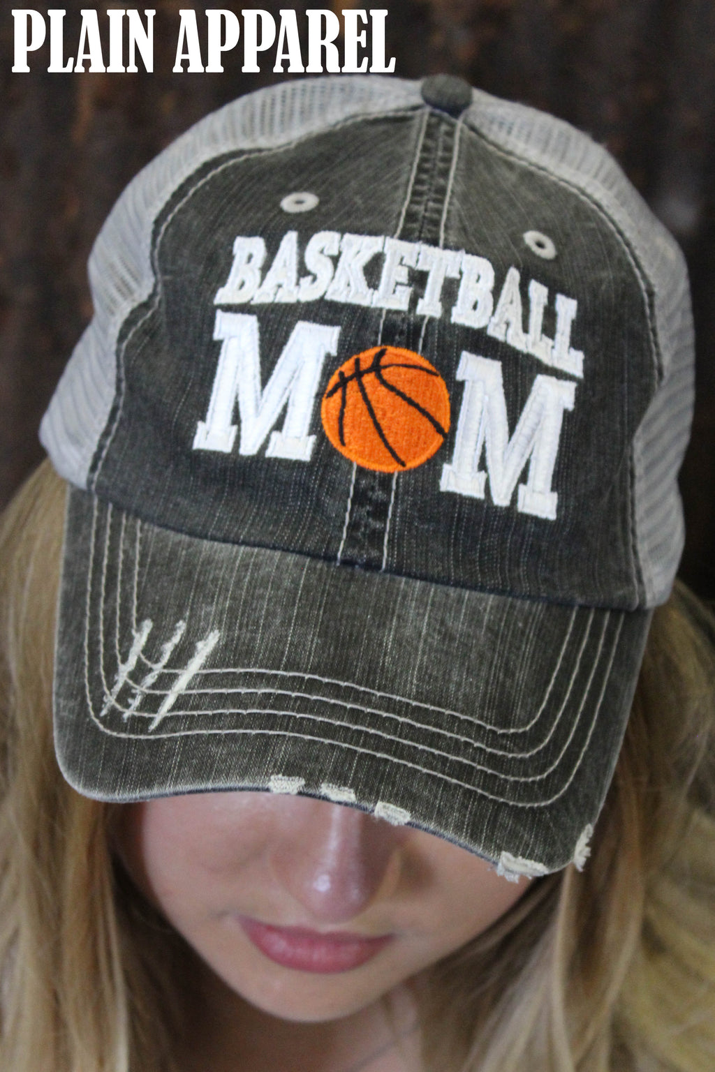 Basketball MOM Cap - Bless UR Heart Boutique