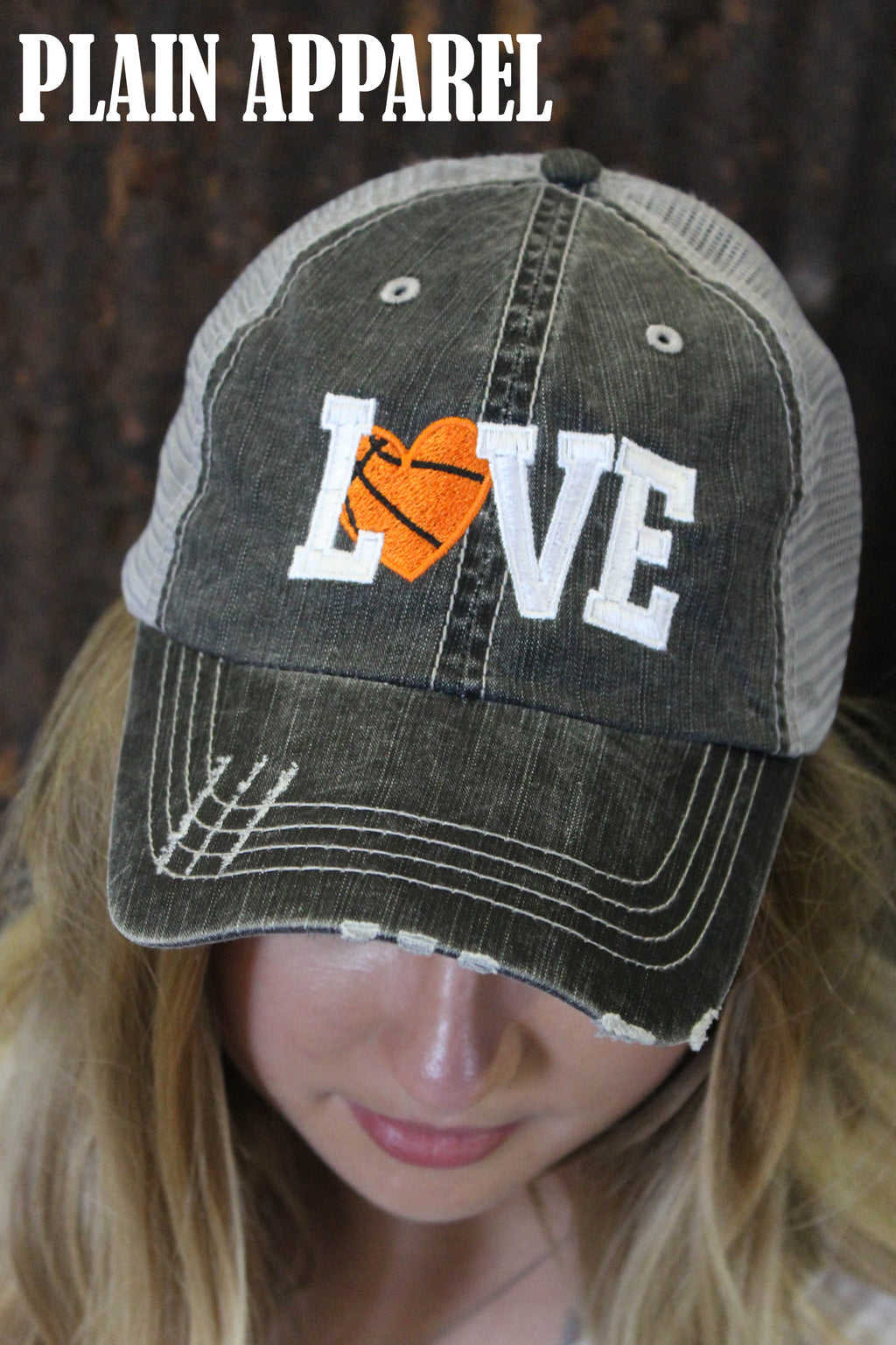 Basketball LOVE Cap - Bless UR Heart Boutique
