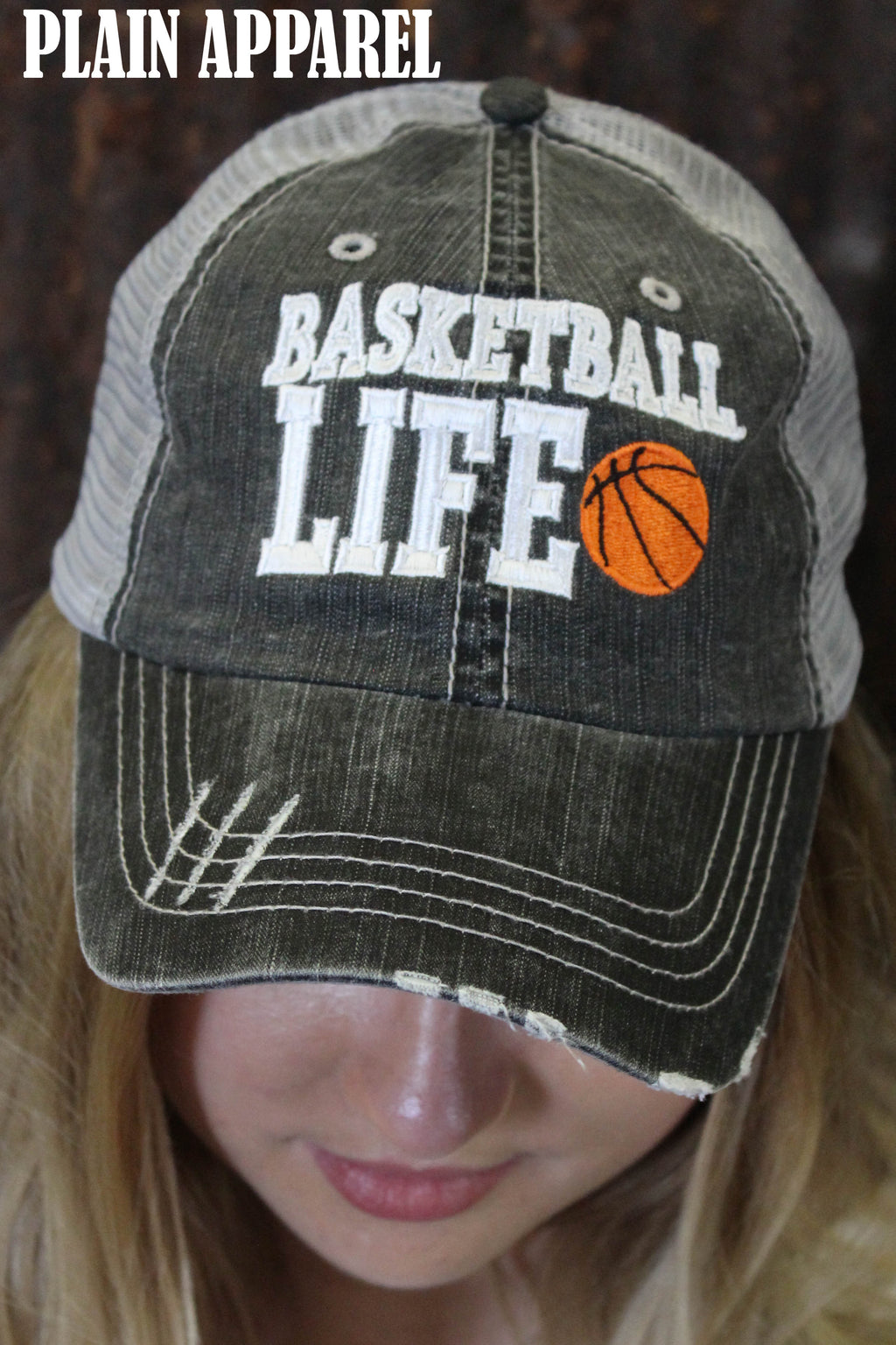 Basketball Life Cap - Bless UR Heart Boutique